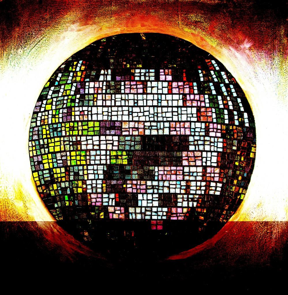 mosaic globe